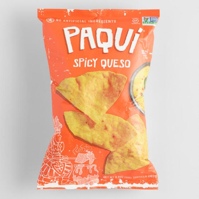Paqui Spicy Queso Tortilla Chips