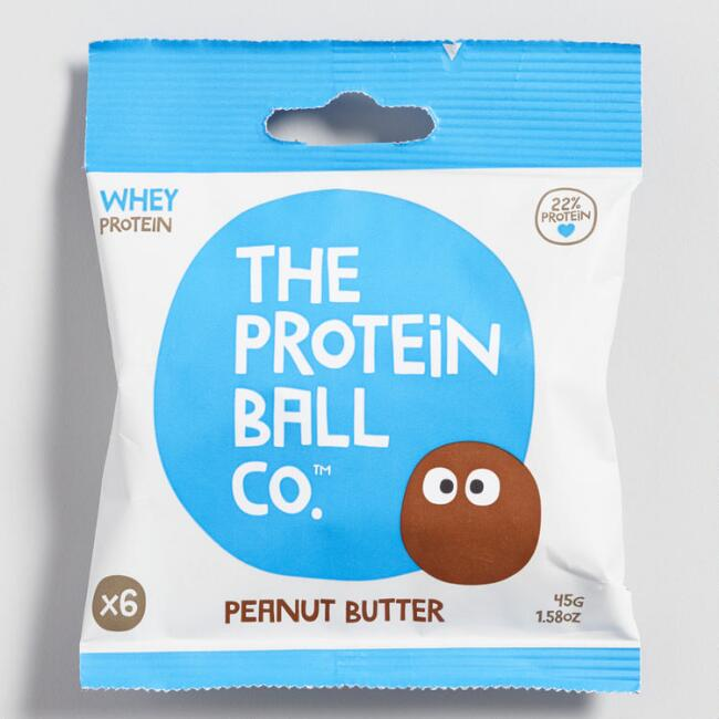 Peanut Butter Whey Protein Balls