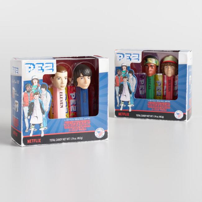 Pez Stranger Things Dispenser and Candy Set of 2