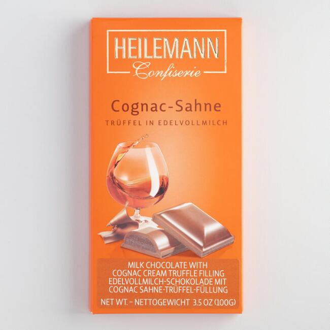 Heilemann Cognac Liqueur Milk Chocolate Truffle Bar