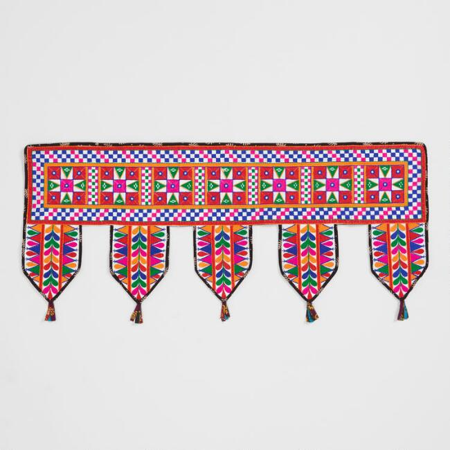 Embroidered Toran Hanging Decor