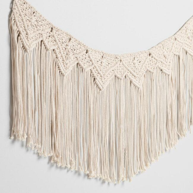 Macrame Garland with Fringe
