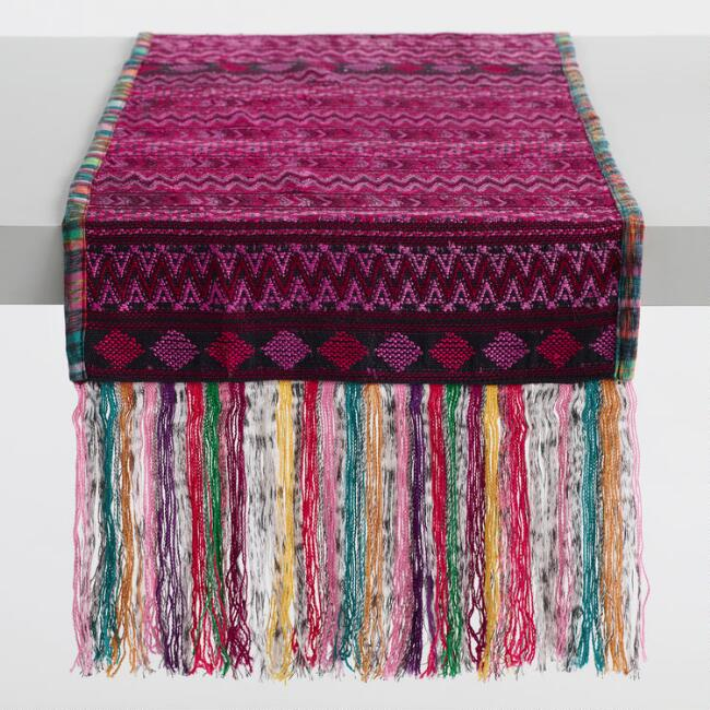 Huipil and Corte Table Runner