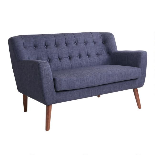 Mid Century Tufted Shay Loveseat