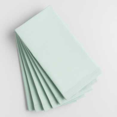 Surf Spray Aqua Buffet Napkins 6 Count