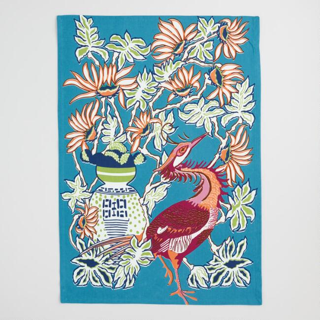 Crane Chinoiserie Kitchen Towel