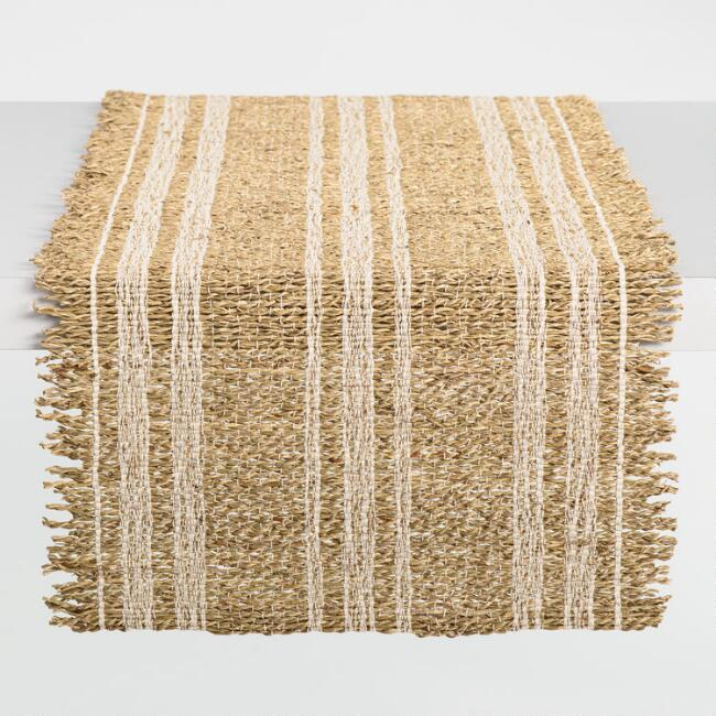 Natural Twisted Banana Leaf Table Runner