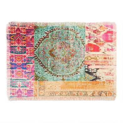 Multicolor Patchwork Haveli Placemats Set of 4