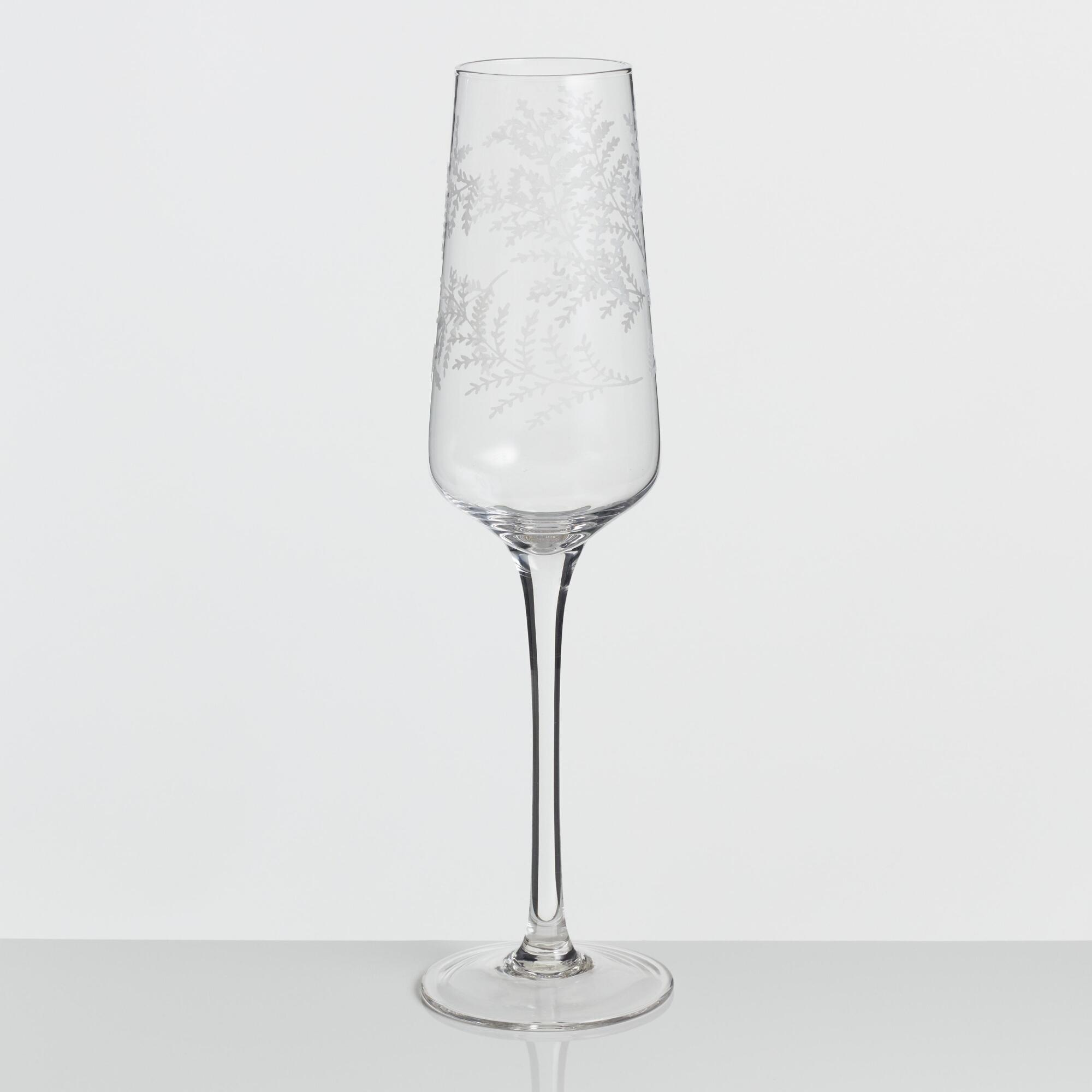 Yellowstone Champagne Flutes Set of 4 by World Market