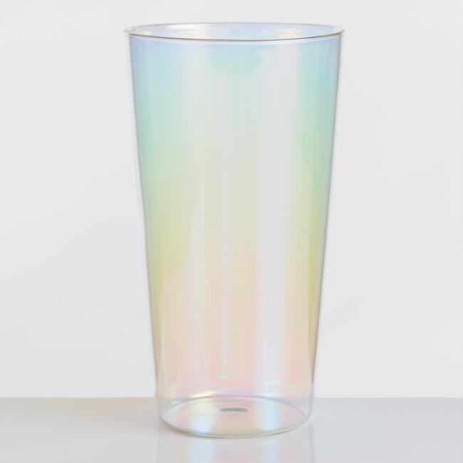 Lustre Iridescent Highball Glasses Set of 4