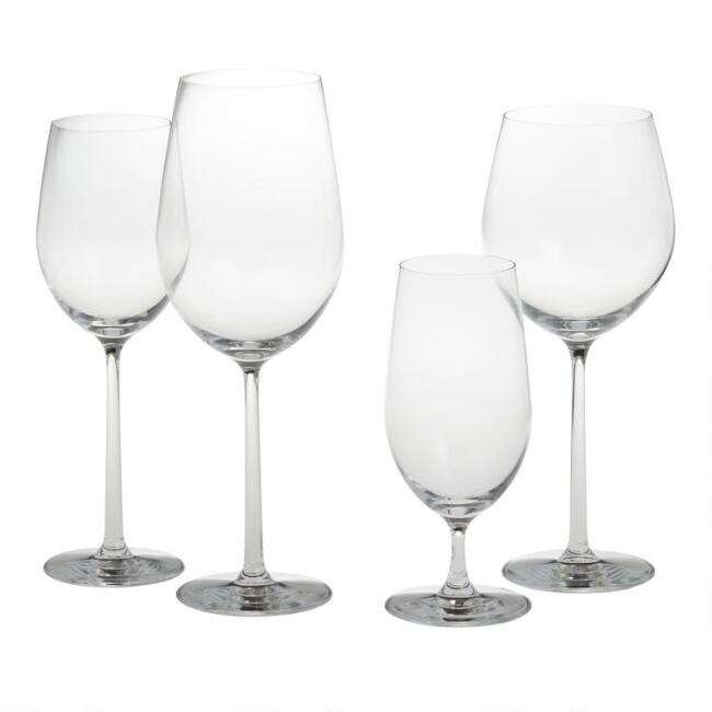 Long Stem Oversized Glassware Collection