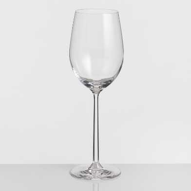 Long Stem Oversized White Wine Glasses Set of 4