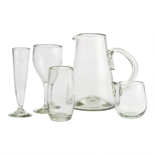 Recycled Glassware Collection