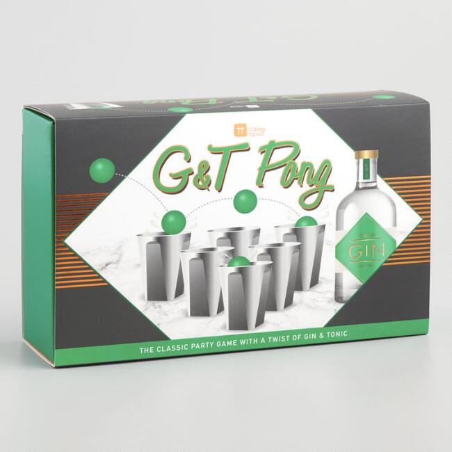 Gin & Tonic Pong Drinking Game