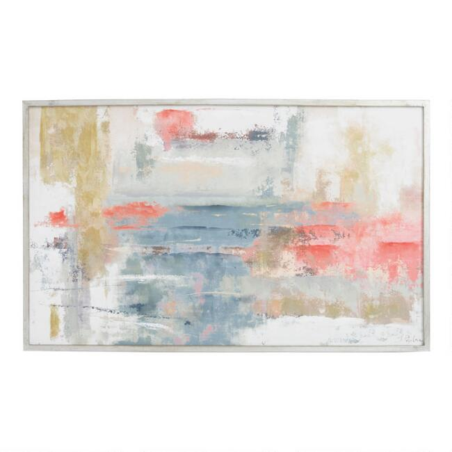 Blush Abstract by Joasia Pawlak Wall Art