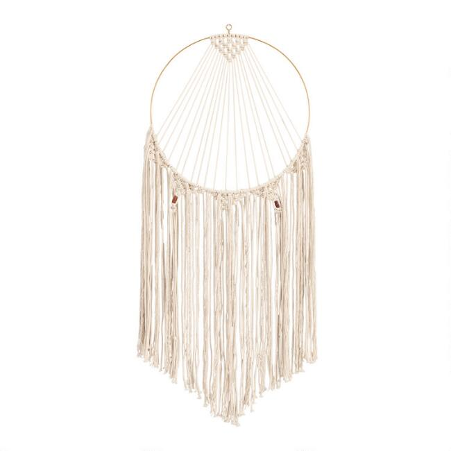 Full Moon Fringe Wall Hanging