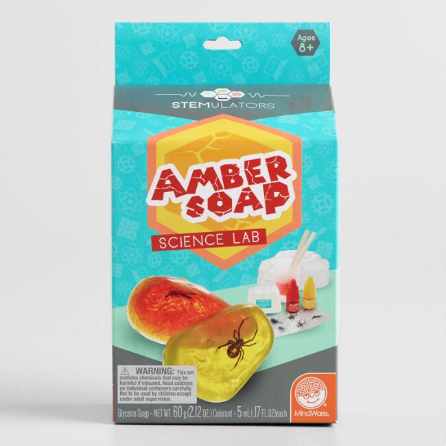 Mindware Amber Soap Making Science Kit