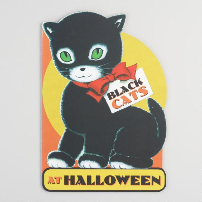 Black Cats at Halloween Book
