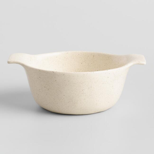 Speckled Ceramic Soup Crocks Set Of 4