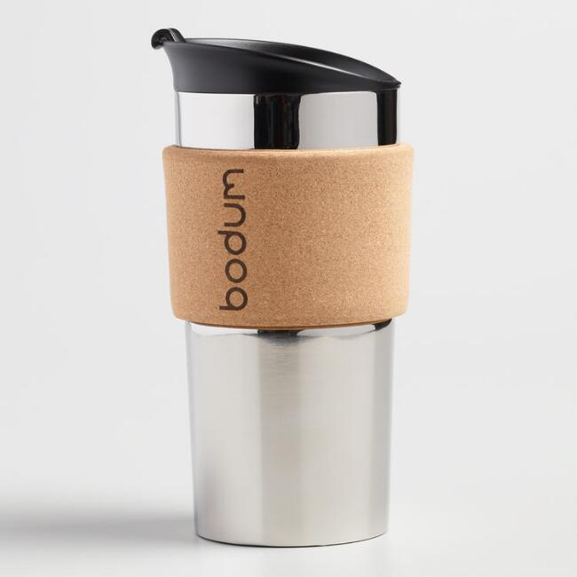 Bodum French Press Travel Mug with Cork Sleeve