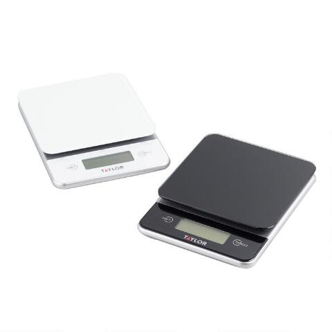 Taylor Glass Digital Food Scales Set of 2