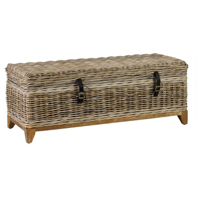 Natural Rattan Basket Bretta Coffee Table