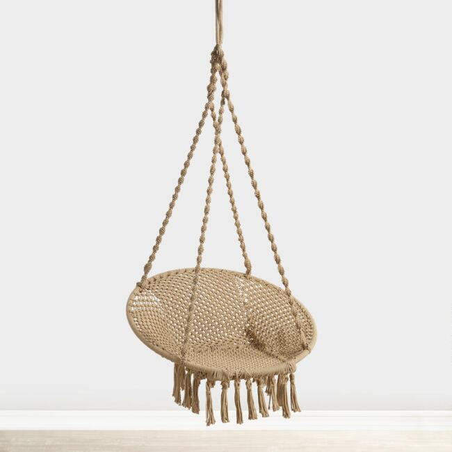 Natural Jute Hanging Chair