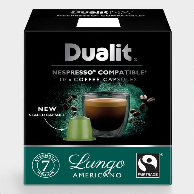 Dualit Lungo Americano Coffee Capsules 60 Count