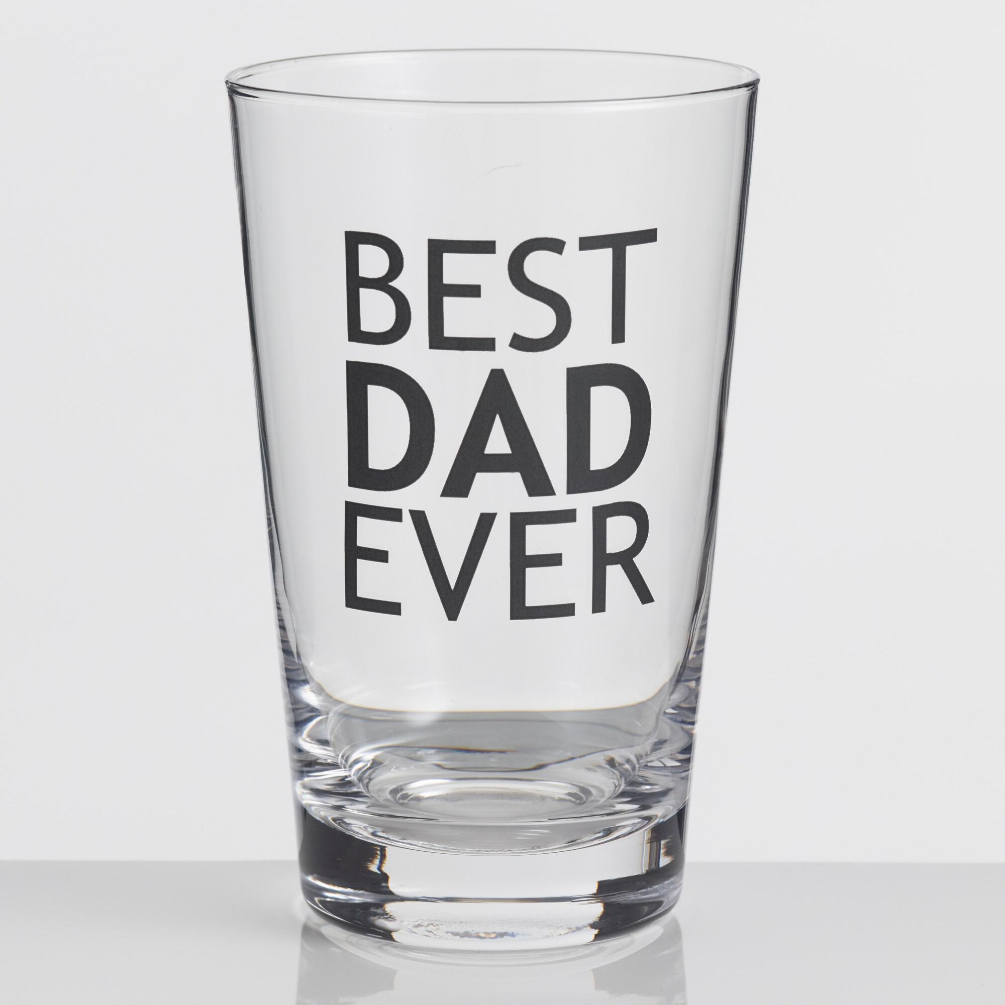 Best Dad Ever Pint Glass by World Market
