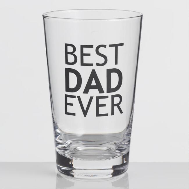 Best Dad Ever Pint Glass