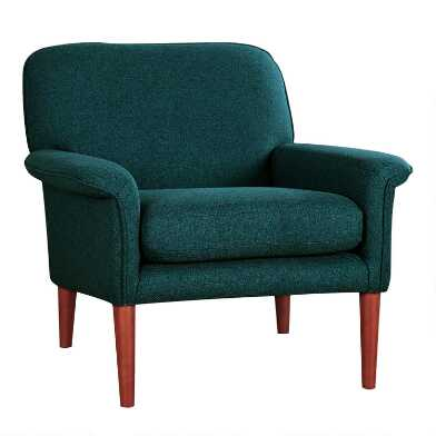 Dark Teal Malcom Armchair