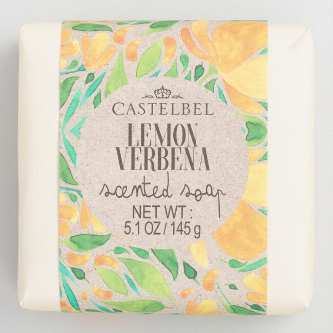 Castelbel Kraft Floral Lemon Verbena Bar Soap