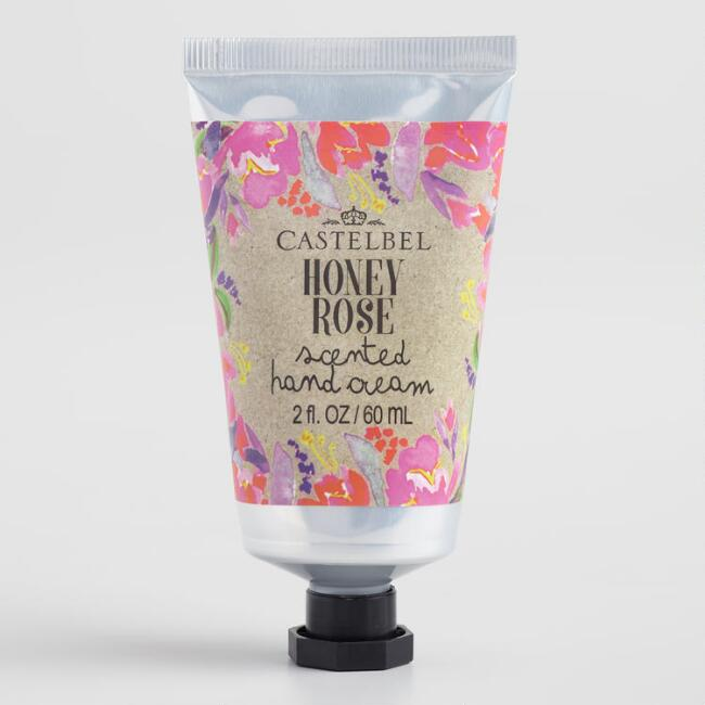 Castelbel Kraft Floral Honey Rose Hand Cream Set of 2