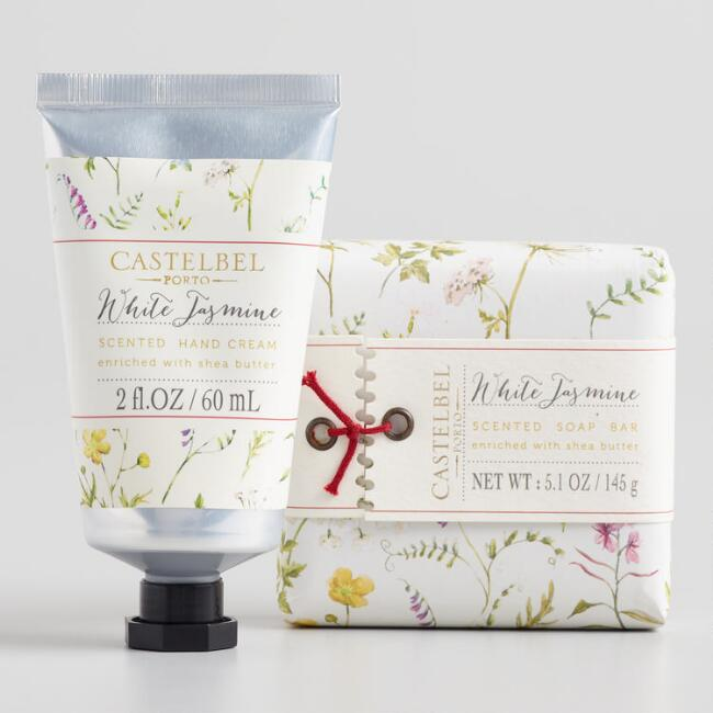 Castelbel Botanist White Jasmine Bath and Body Collection