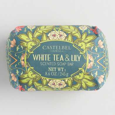 Castelbel Nouveau White Tea and Lily Bar Soap