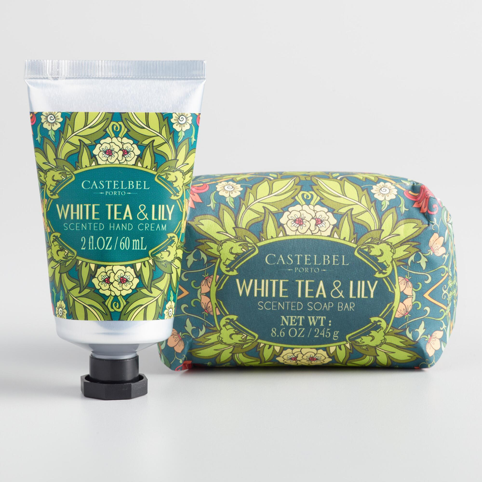 Castelbel Nouveau White Tea and Lily Body Care Collection by World Market