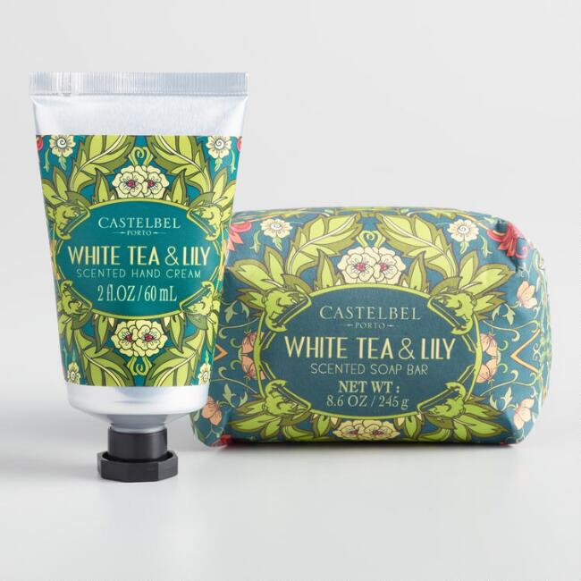 Castelbel Nouveau White Tea and Lily Body Care Collection