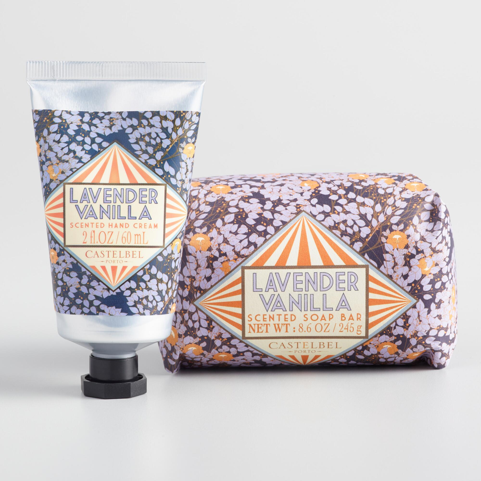 Castelbel Nouveau Lavender and Vanilla Body Care Collection by World Market