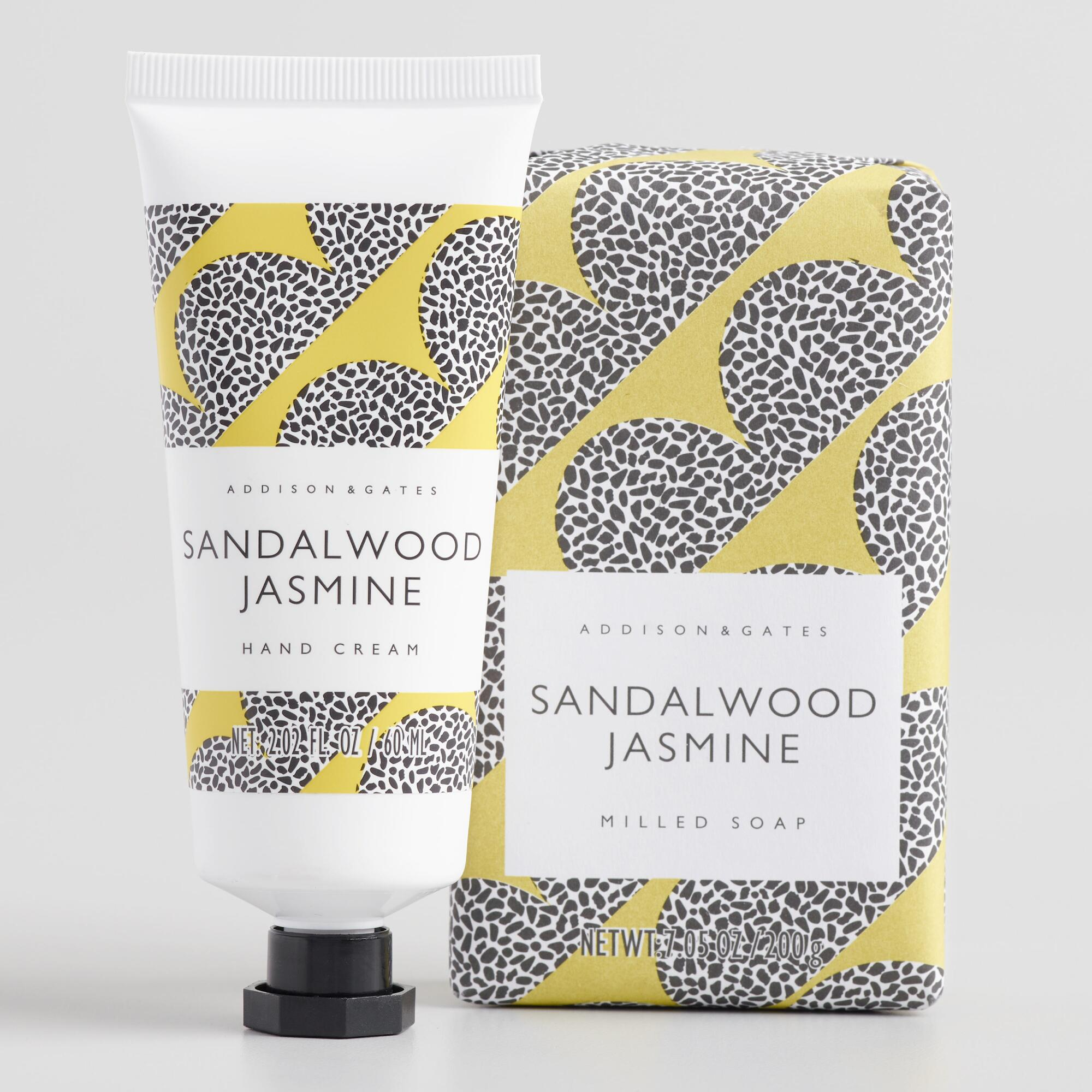 A&G Mid Century Sandalwood and Jasmine Body Care Collection by World Market