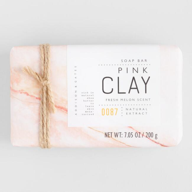 A&G Pink Clay Extracts Bar Soap