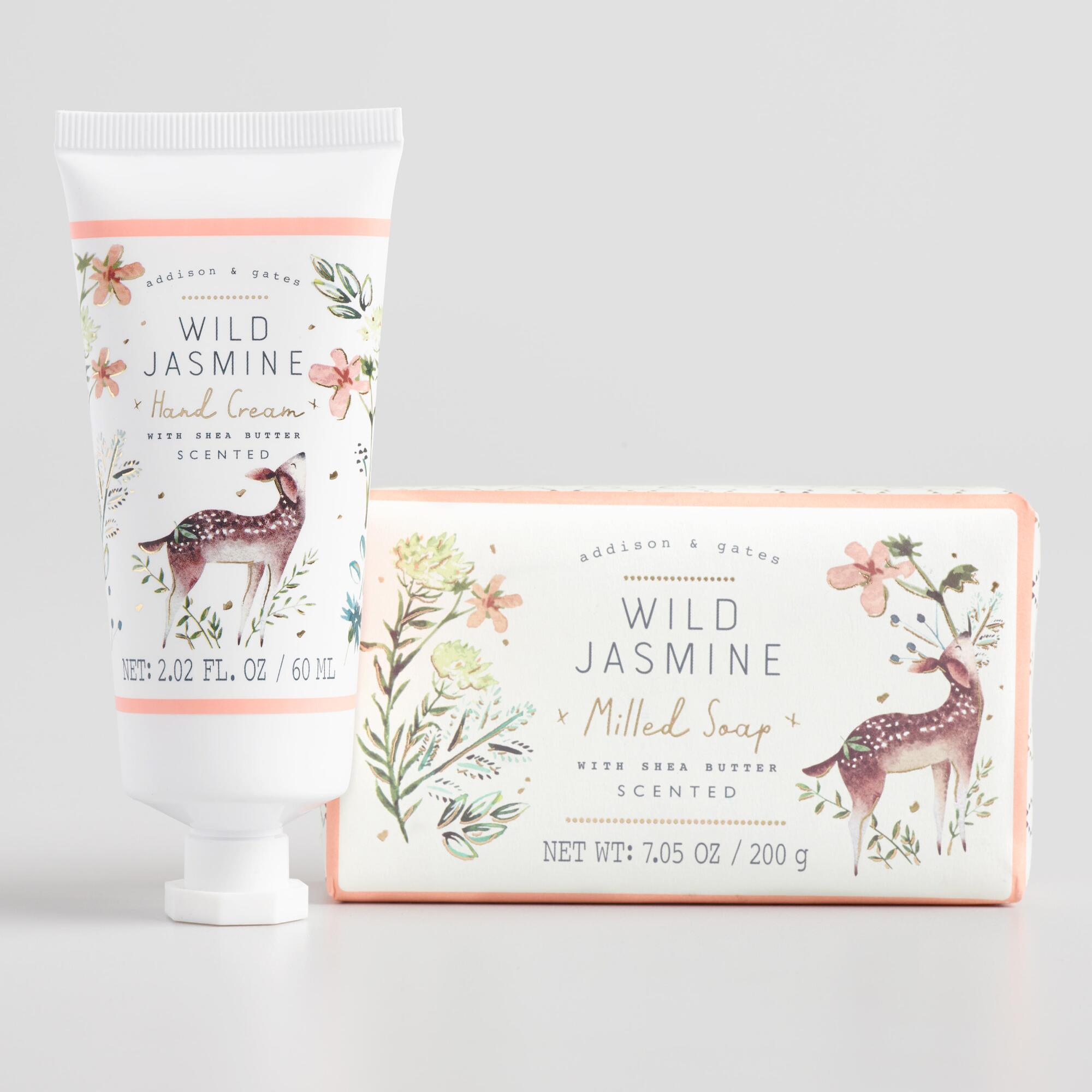 A&G Woodland Wild Jasmine Body Care Collection by World Market