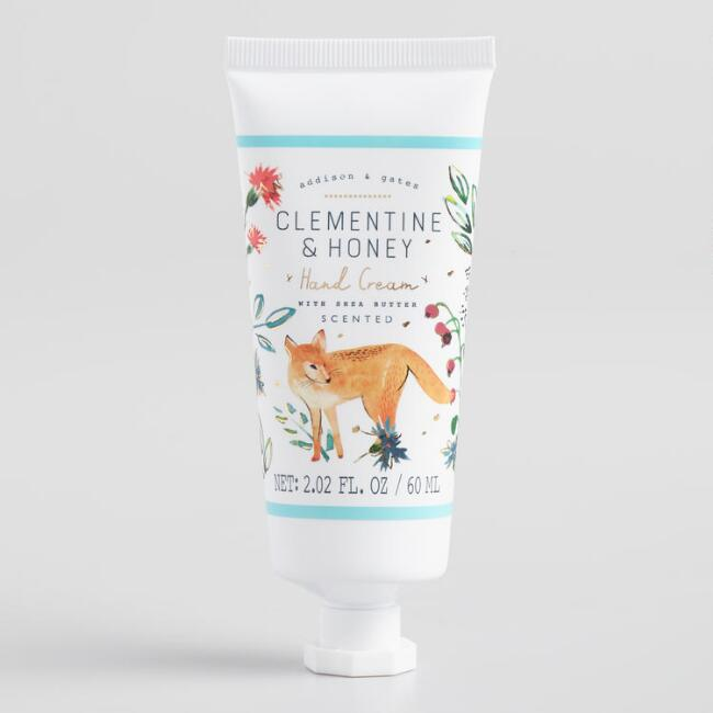 A&G Woodland Clementine and Honey Hand Cream Set of 2