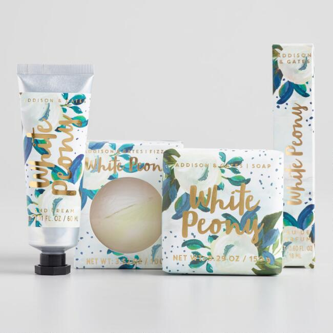 A&G Bloom White Peony Collection