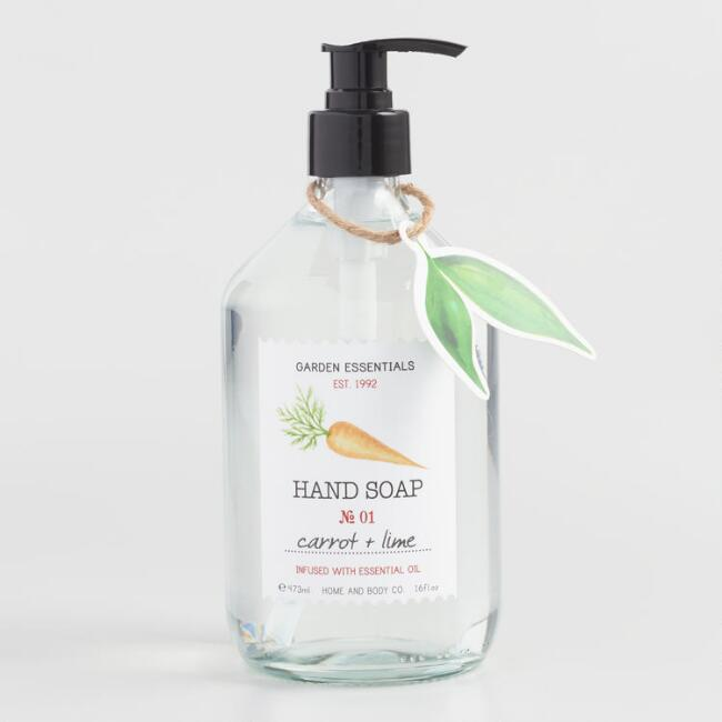 Garden Essentials Carrot and Lime Liquid Hand Soap