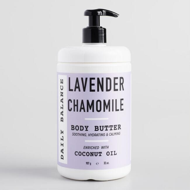 Large Daily Balance Lavender Chamomile Body Butter