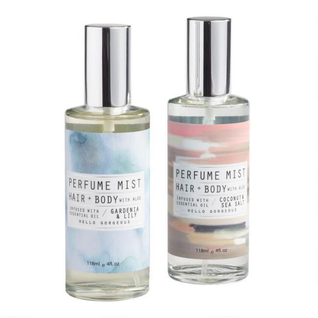 Hair and Body Perfume Mist Collection