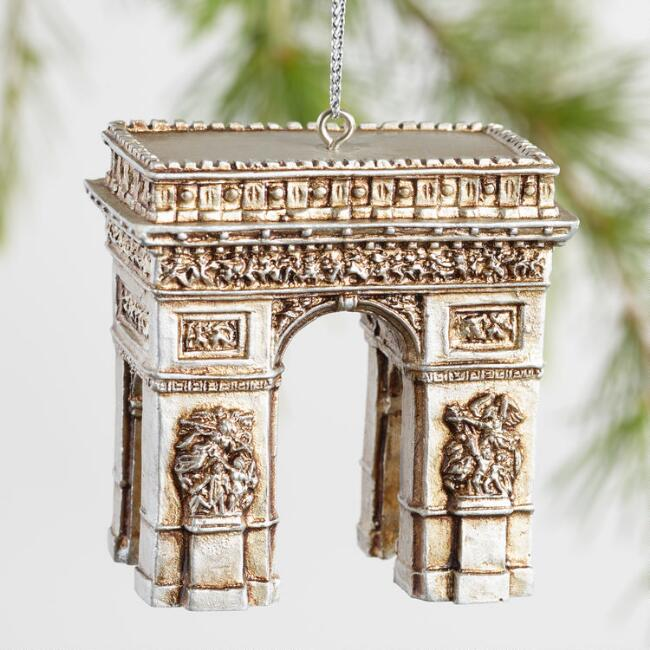 Paper Pulp European Icon Ornaments Set of 4