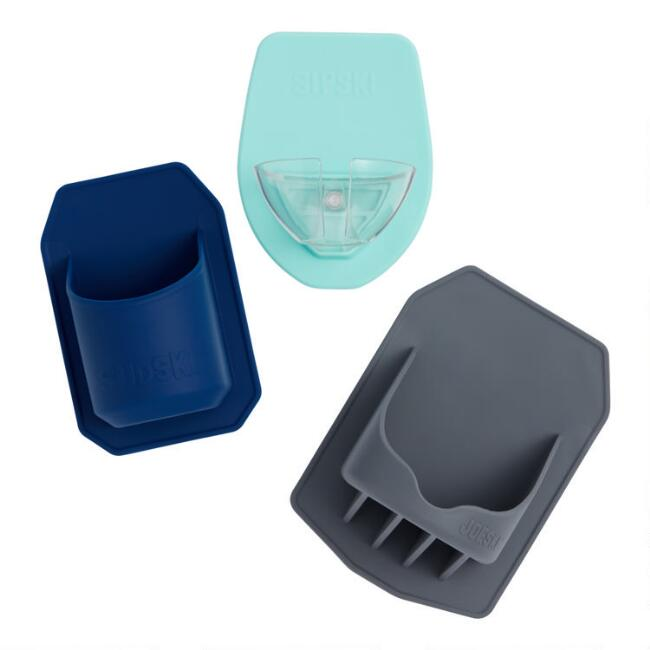 Silicone Shower Drink Holder Collection