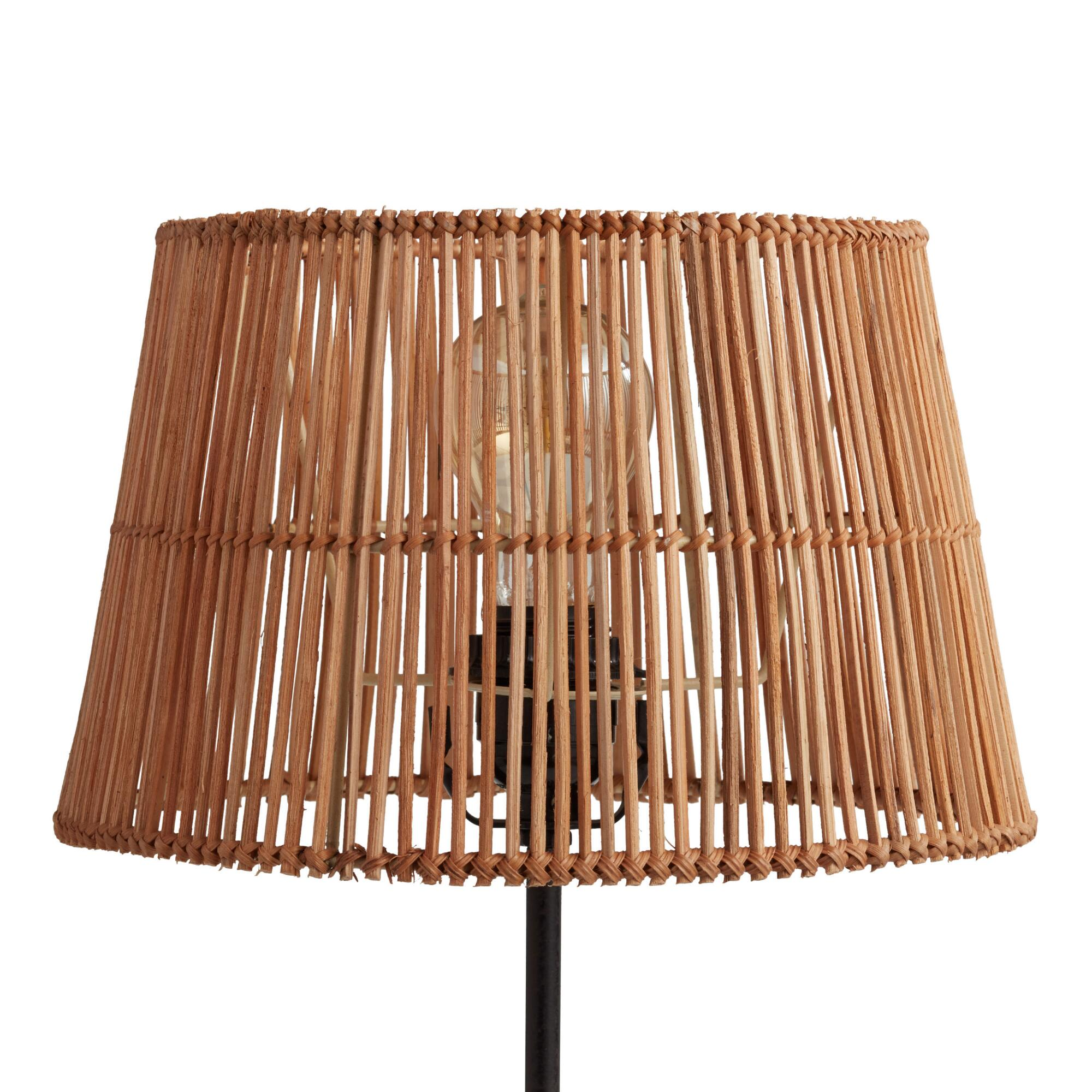 Natural Rattan Accent Lamp Shade by World Market