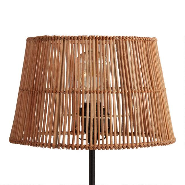 Natural Rattan Accent Lamp Shade